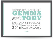 COCKTAIL HOUR Save the Date Postcards