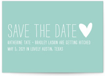 Passing Notes Save the Date Postcards