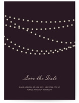 Midnight Vineyard Save the Date Postcards