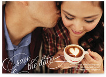 Save in Script Save the Date Postcards