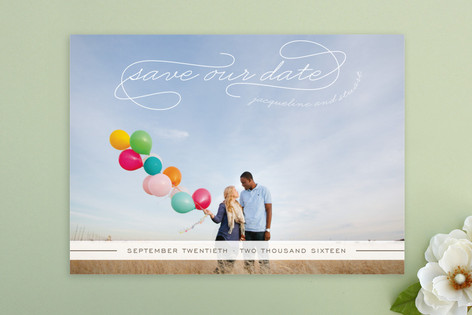 Gallery Classic Save the Date Postcards