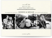 Remember When Save the Date Postcards
