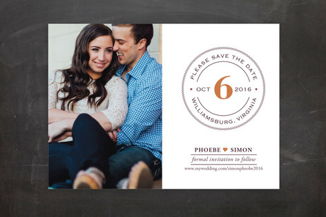 Diamond Ring Save the Date Postcards
