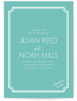 Modern Classic Save the Date Postcards