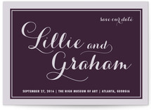 Symphony Save the Date Postcards
