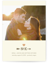 love struck Save the Date Postcards