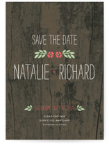 In the Park Save the Date Postcards