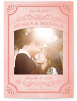 A Chalkboard Marriage Save the Date Postcards