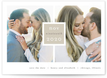 Frame Up Save the Date Postcards