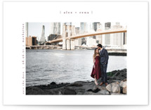 Cityscape Save The Date Postcards