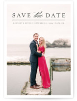 Classic Save the Date by Pine and Lark
