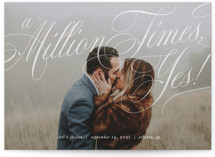 A Million Times by Paper Raven Co.