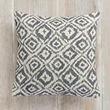 Painterly Ikat Pillows