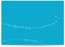 Fly with Us Save the Date Cards