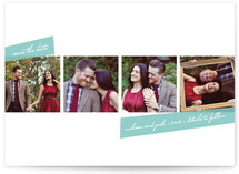 Photobooth Style Save the Date Cards