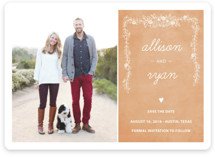 Chalkboard Save the Date Cards