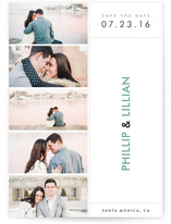 Chic Photo Booth Save the Date Cards