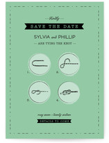 Nostalgic Knot Save the Date Cards