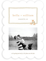 Ruffle and Petal Save the Date Cards
