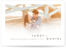 Whisper Light Save the Date Cards