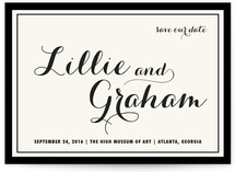 Symphony Save the Date Cards