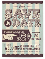 Spun Sugar Save the Date Cards