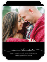 Beautifully Penned Save the Date Cards