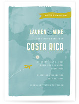 Costa Rica Save the Date Cards