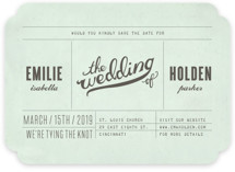 Mr. Laurence Save the Date Cards