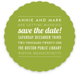 The Square Type Save the Date Cards