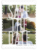 Trifecta Save the Date Cards