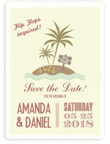 Flip Flops Required Save the Date Cards