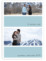 Bold Stripe Save the Date Cards