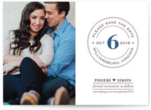 Diamond Ring Save the Date Cards