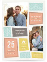 A Modern Couple Save the Date Cards