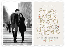 On This Journey Save the Date Cards