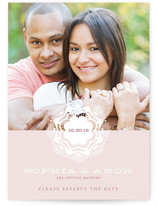 Grand Lace Save the Date Cards
