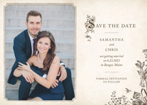 Story Book Save the Date Cards By Jody Wody