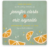 Citrus Lovin&#039; Save the Date Cards