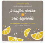 Citrus Lovin' Save the Date Cards