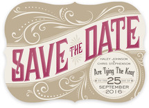Good Ol&#039; Fashion Love Save the Date Cards