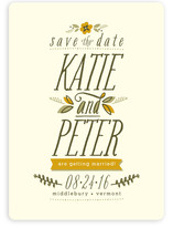 Jardinet Save the Date Cards