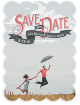Up in the Clouds Save the Date Cards