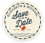 Salty Seas Save the Date Cards