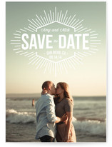 Let It Shine Save the Date Cards