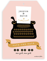 Typewriter (The Next Chapter) Save the Date Cards
