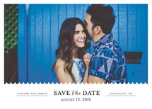 Shore Thing Save the Date Cards By lena barakat