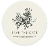 Elegance Illustrated Save the Date Cards