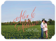 Timeless Bold Typography Save the Date Cards