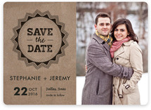 Krafty Stamp Save the Date Cards